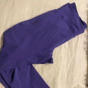 LuLulemon Lilac Crop 12 leggings